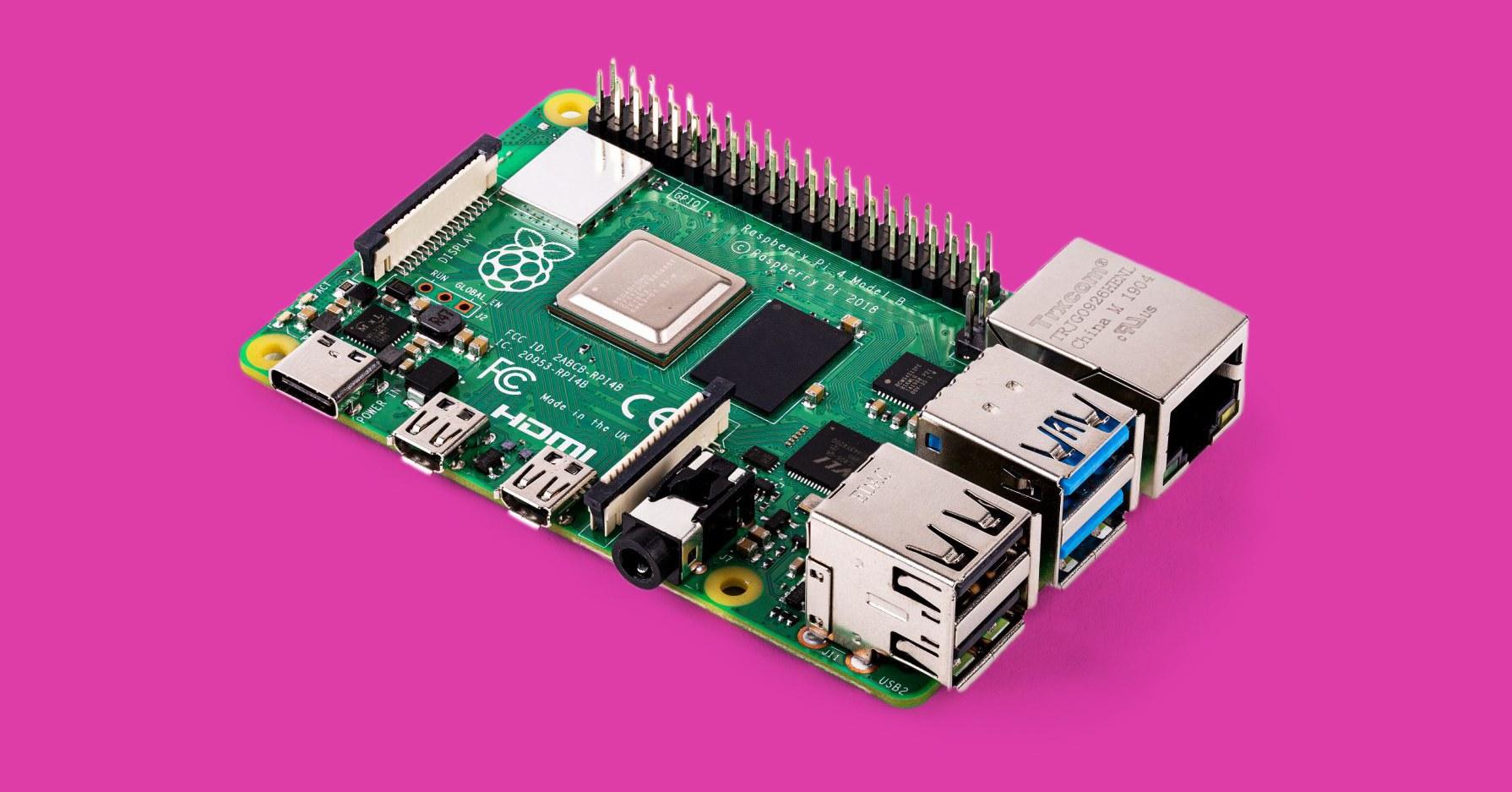 Raspberry PI 4. Первоначальная настройка 1