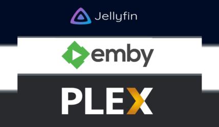 Выбор DLNA-сервера для Raspberry PI: Plex/Emby/Jellyfin
